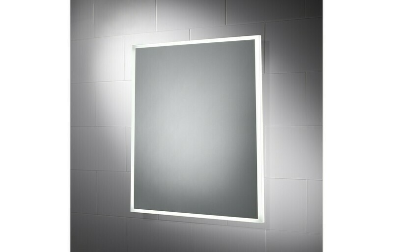 Galatea 500x600mm Border-Lit Dimmable LED Mirror