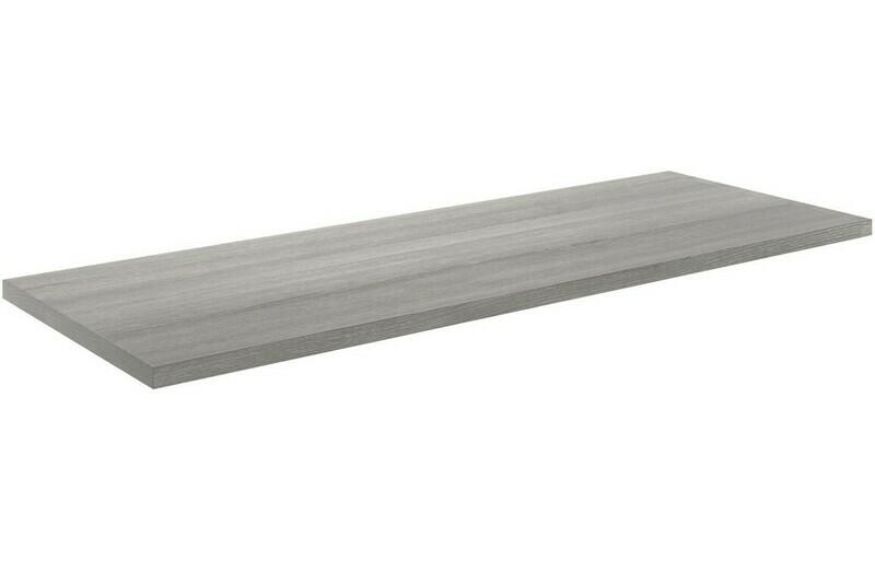 Morina 1200x460x25mm Laminate Worktop - Elm Grey