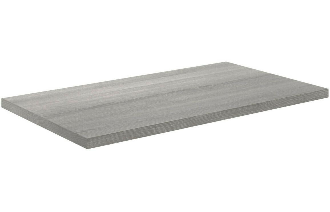 Morina 800x460x25mm Laminate Worktop - Elm Grey