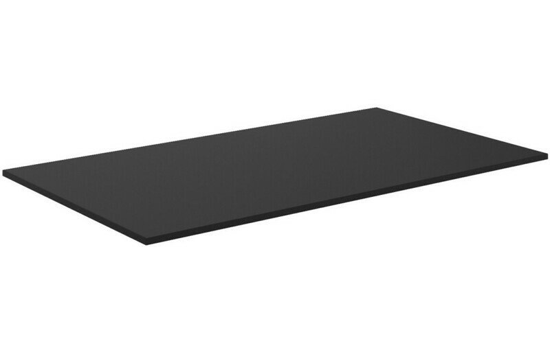 Morina 810x460x10mm HPL Worktop - Urban Black