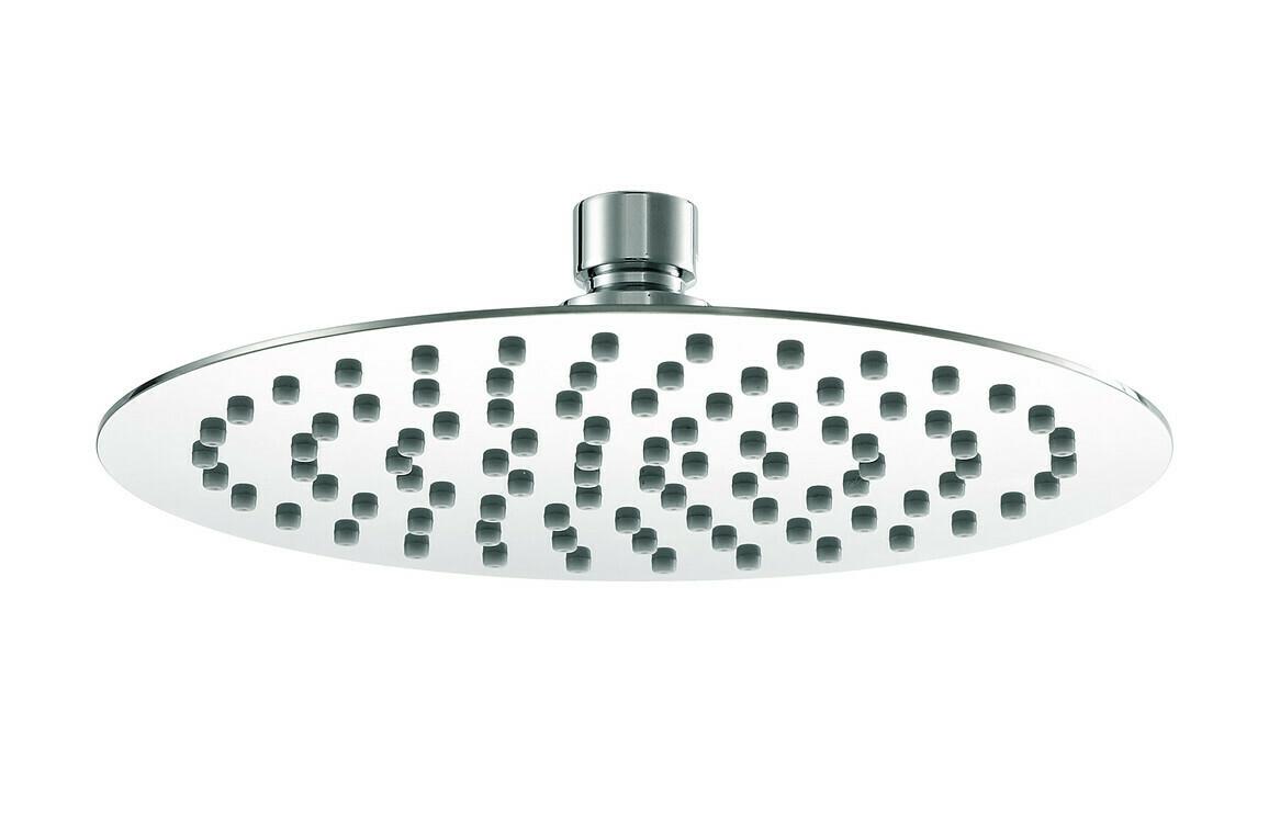 200mm Ultraslim Round Showerhead - St/Steel