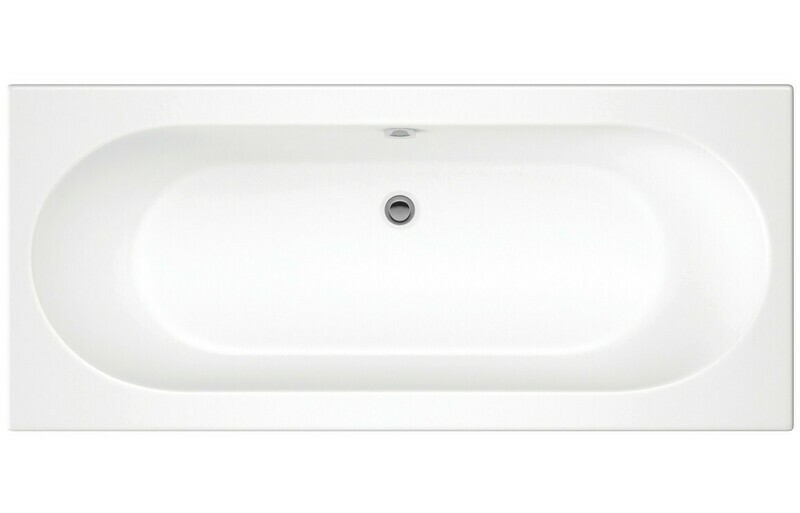 CASCADE DOUBLE END 1600X750 0TH BATH