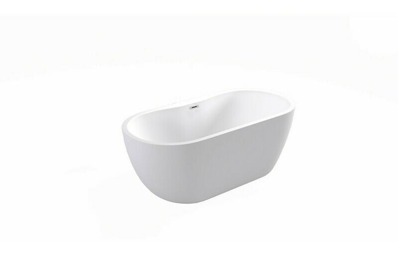 Harlesden Freestanding 1455x740x580mm Bath - White