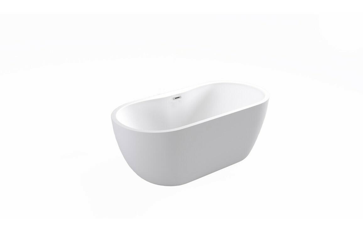 Harlesden Freestanding 1655x740x580mm Bath - White