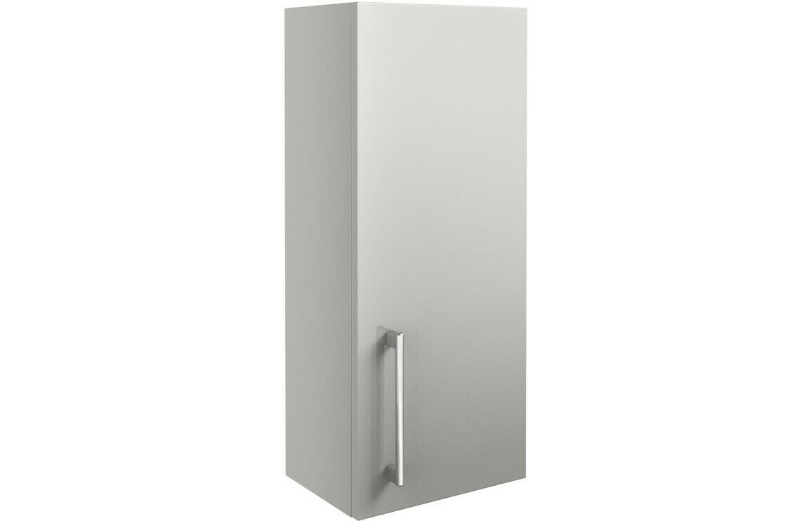 Alba 300mm Wall Unit - Light Grey Gloss