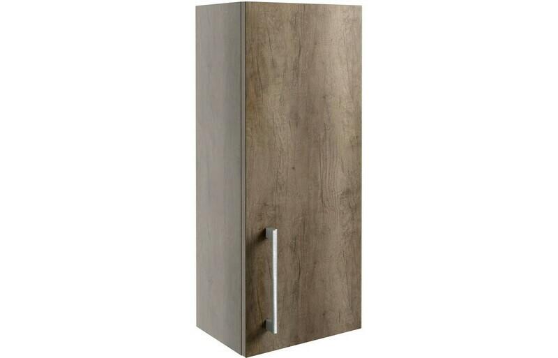 Alba 300mm Wall Unit - Grey Nebraska Oak