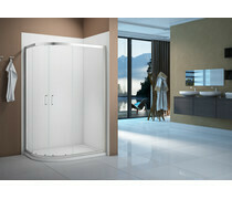 Merlyn Vivid Boost 1000x800mm 2 Door Offset Quadrant