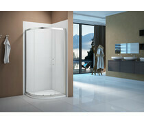 Merlyn Vivid Boost 1200x800mm 1 Door Offset Quadrant