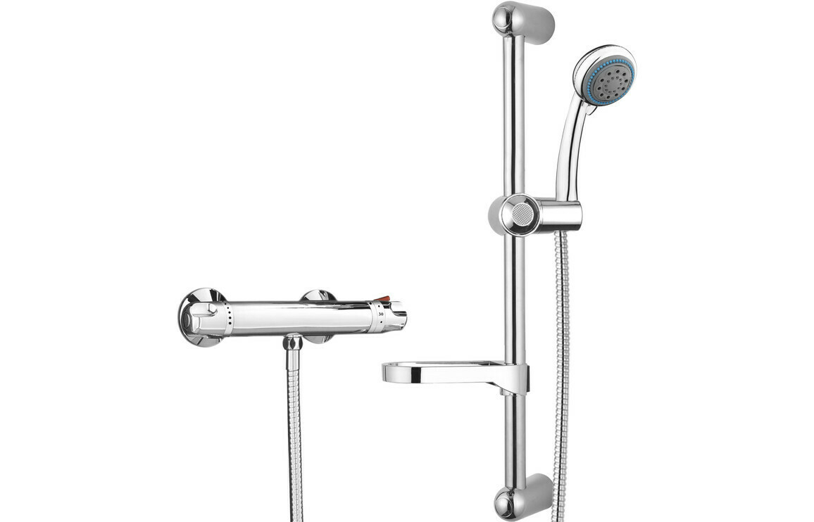 Low Pressure Thermostatic Bar Mixer Shower