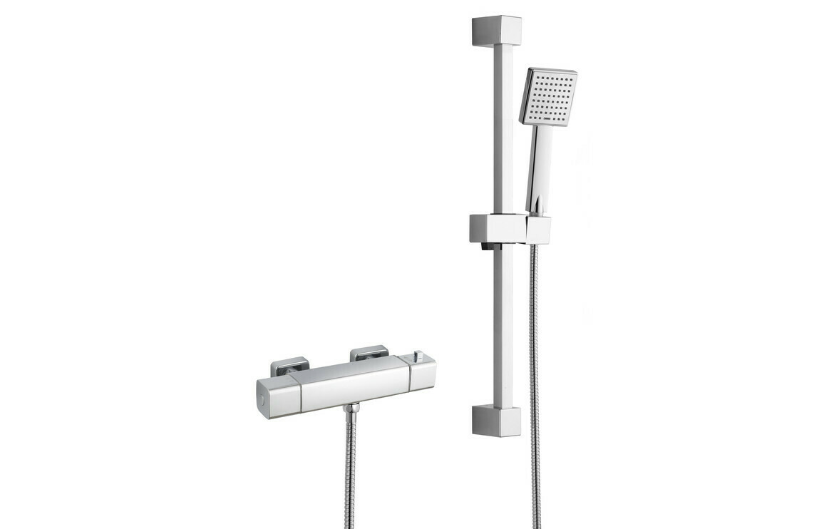 Quadro Cool-Touch Thermostatic Mixer Shower