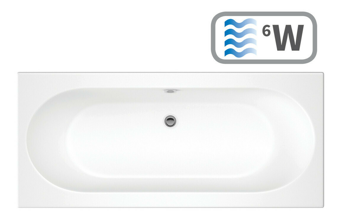 Cascade Double End 1600x750 0TH Bath & Whirlpool System