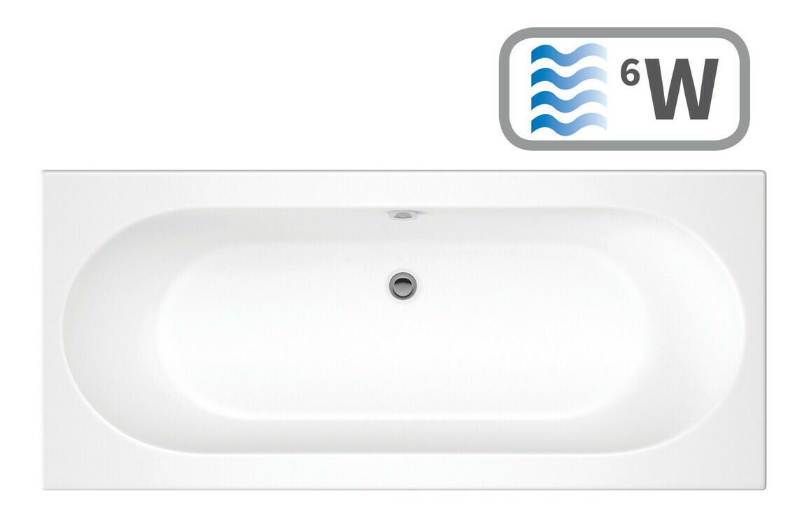 Cascade Double End 1700x750 0TH Bath & Whirlpool System