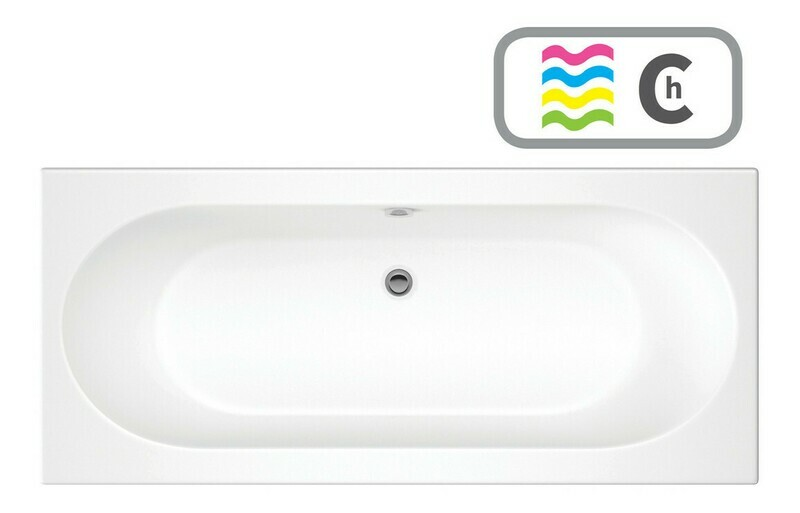 Cascade Double End 1800x800 0TH Bath & Chromatherapy System