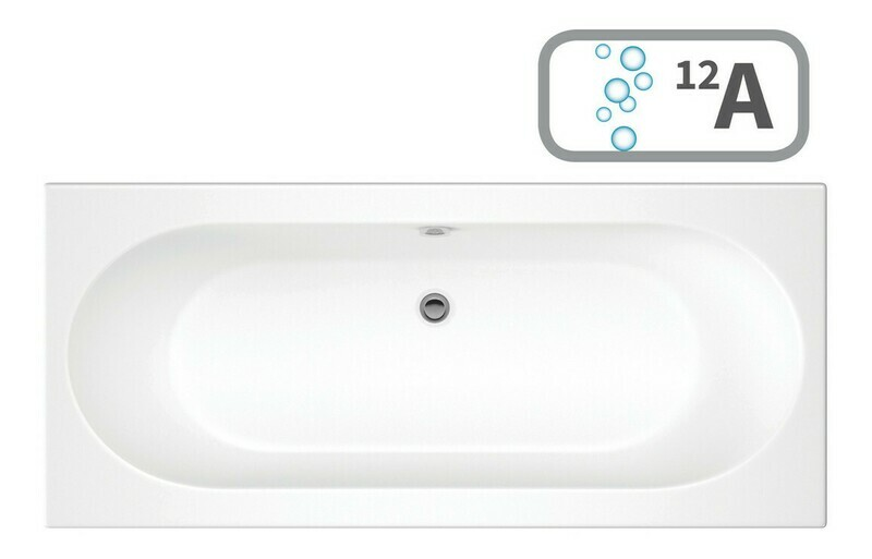Cascade SUPERCAST Double End 1700x700 0TH Bath & Airspa System
