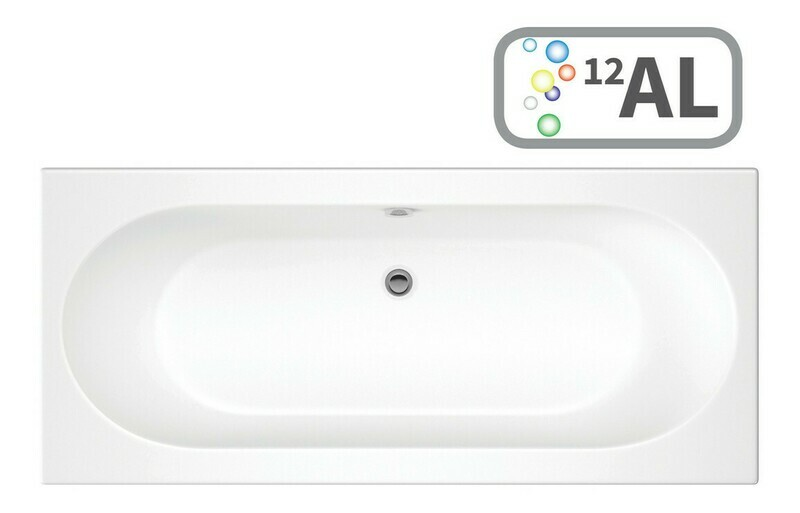 Cascade SUPERCAST Double End 1700x750 0TH Bath & Airspa System w/LED
