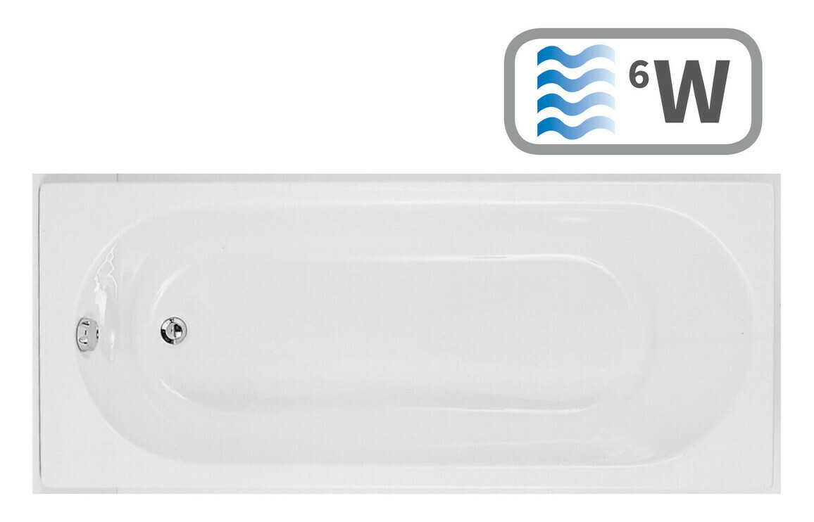 Cascade Single End 1700x700 0TH Bath & Whirlpool System