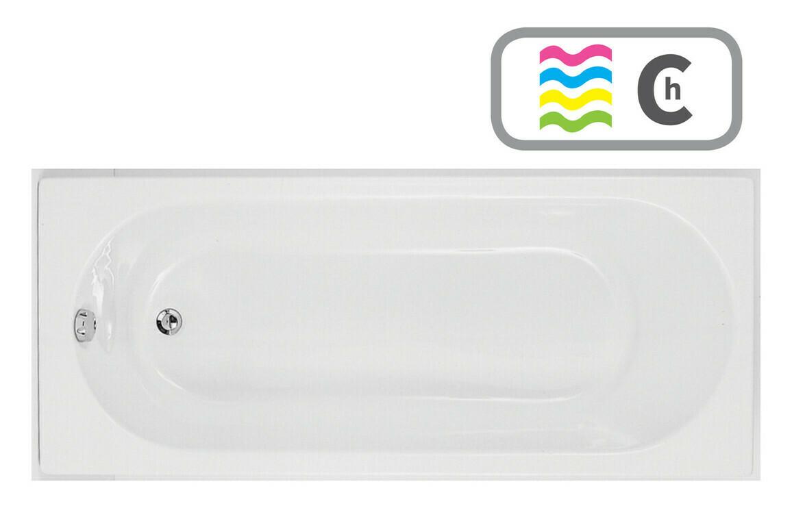 Cascade Single End 1700x750 0TH Bath & Chromatherapy System