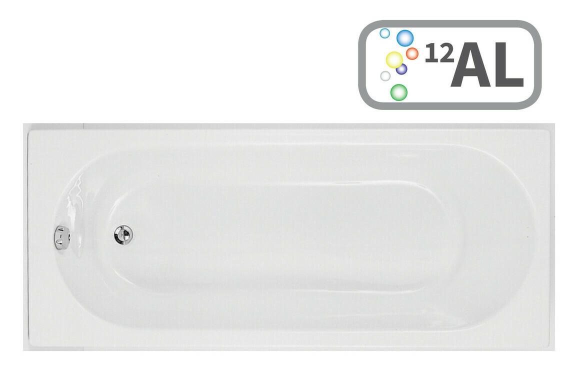 Cascade Single End 1700x800 0TH Bath & Airspa System w/LED