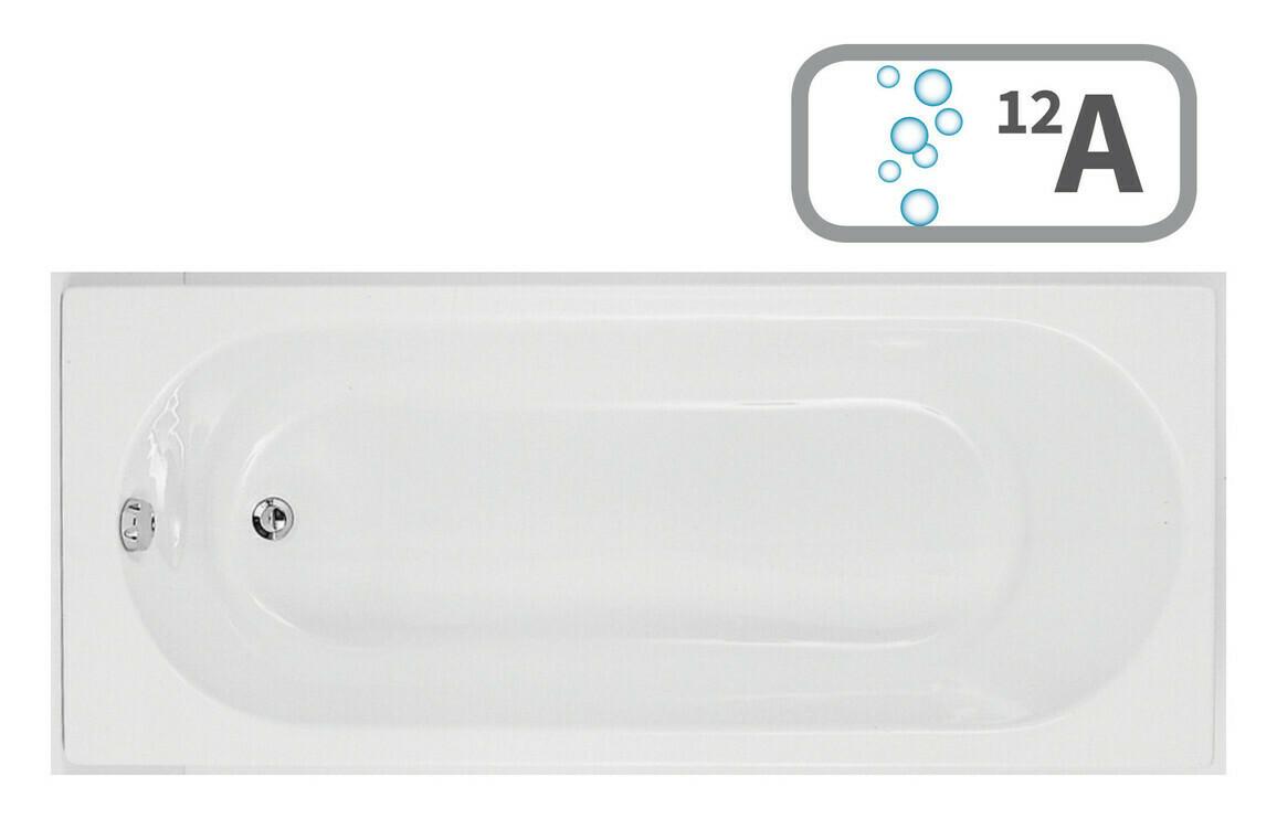 Cascade Single End 1700x800 0TH Bath & Airspa System