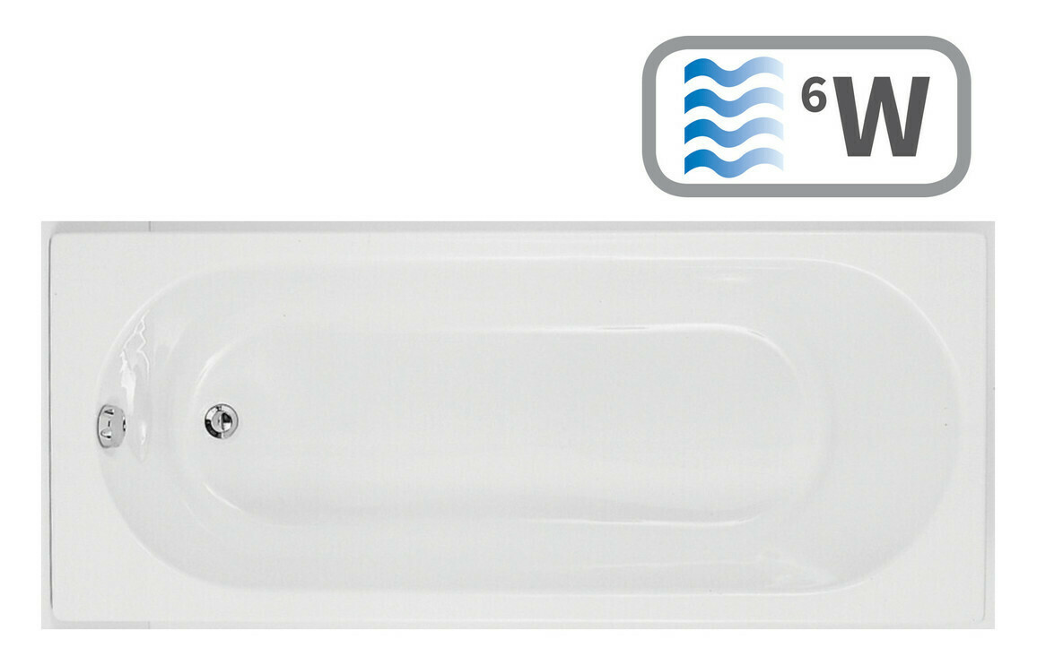 Cascade Single End 1700x800 0TH Bath & Whirlpool System