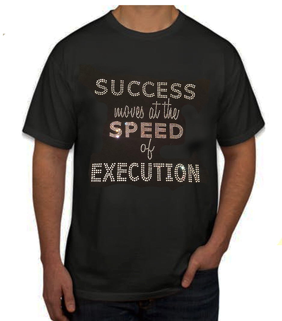 Success T Shirt Front and Back Standard