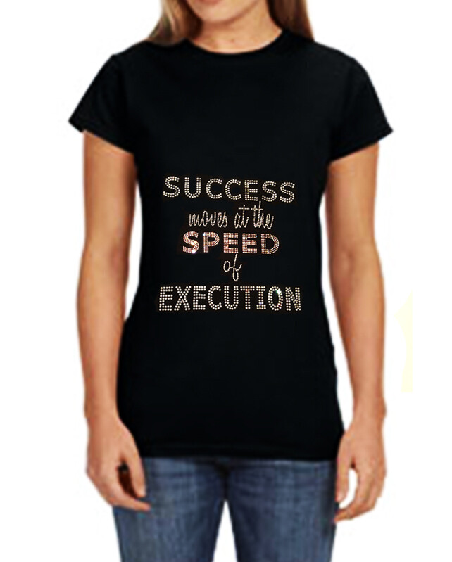 Success T Shirt Front and Back Fitted Only
