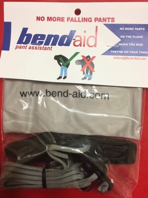 Bend-aid Pant Assist with Clasps for Elastic-Waisted Pants