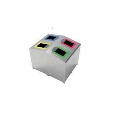 D4071S Set čeličnih reciklažnih kanti za otpatke