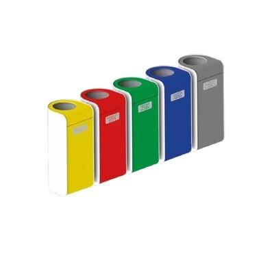 MK2566S Set metalnih reciklažnih kanti za otpatke