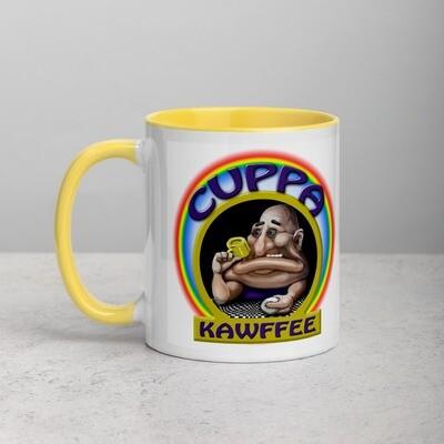 Cuppa Kawfee Color Inside