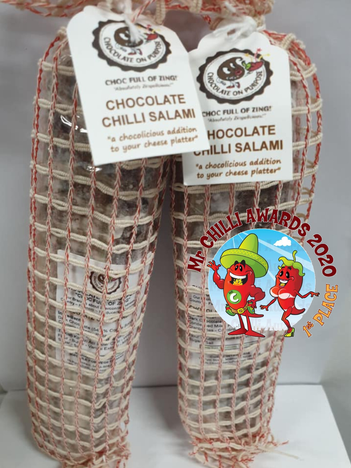 CHILLI Chocolate Salami