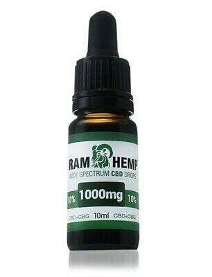 Orvosi Cannabis olaj 10% 10ml 1000mg CBD