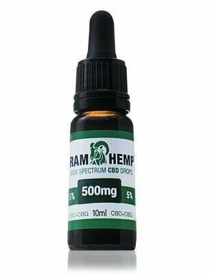 Orvosi Cannabis olaj 5% 10ml 500mg CBD