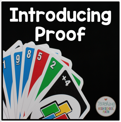 Introducing Proof Using Uno