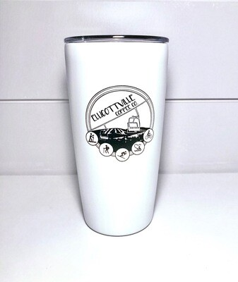 16oz. VI Travel Tumbler White