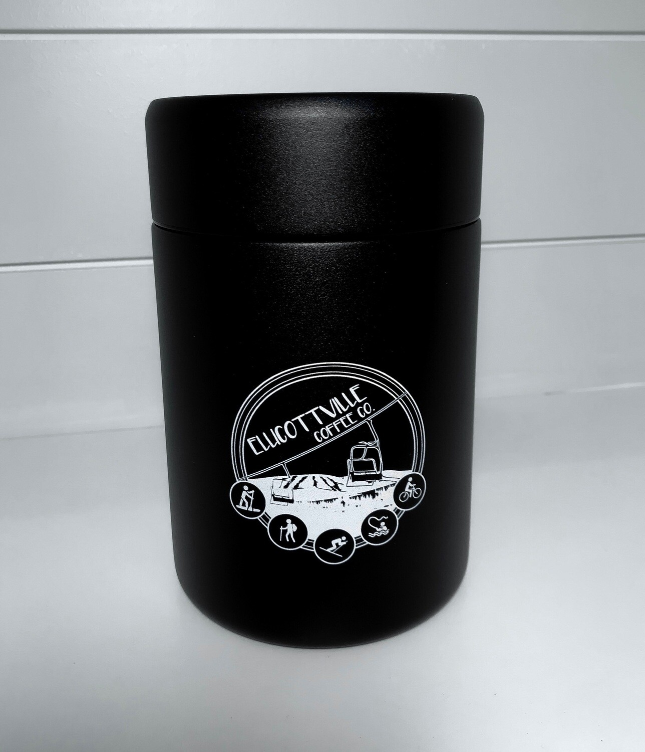 Coffee Canister Black