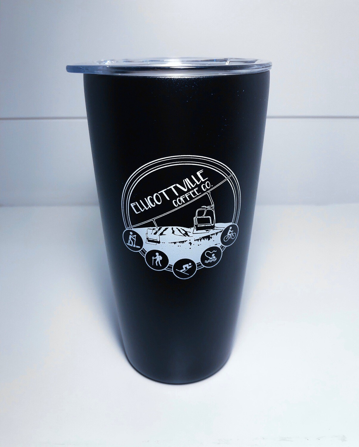 16oz. VI Travel Tumbler Black