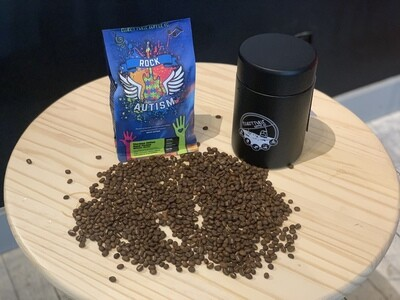 Rock Autism Whole Bean Coffee- 1 Bag