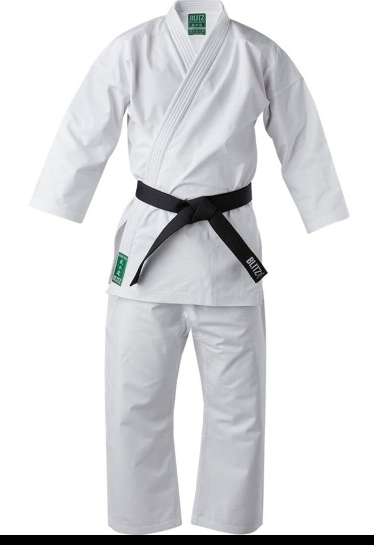 10oz Middleweight White Karate Gi (Adult)