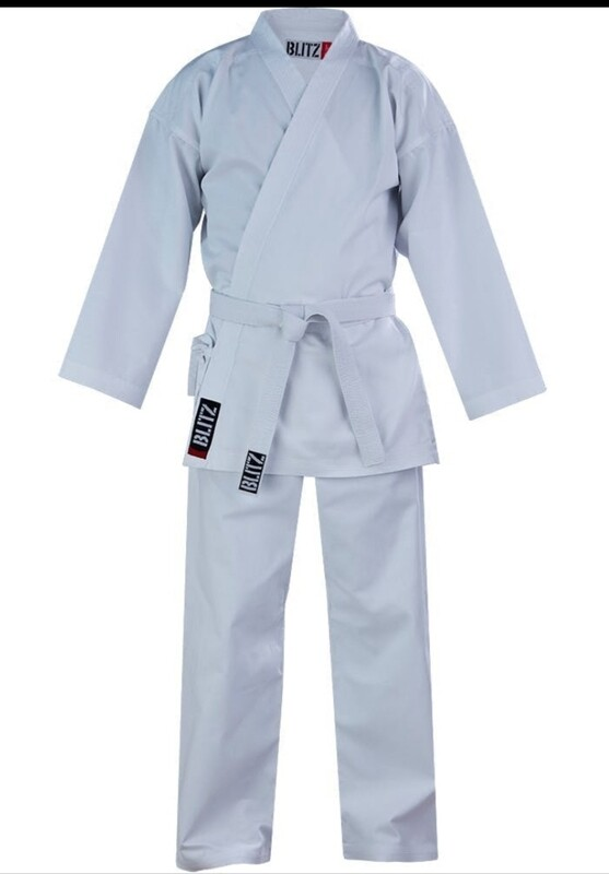 7oz White Karate Gi (Adult) - 160cm - Small Hole by the Badge (£5 off) Brand New