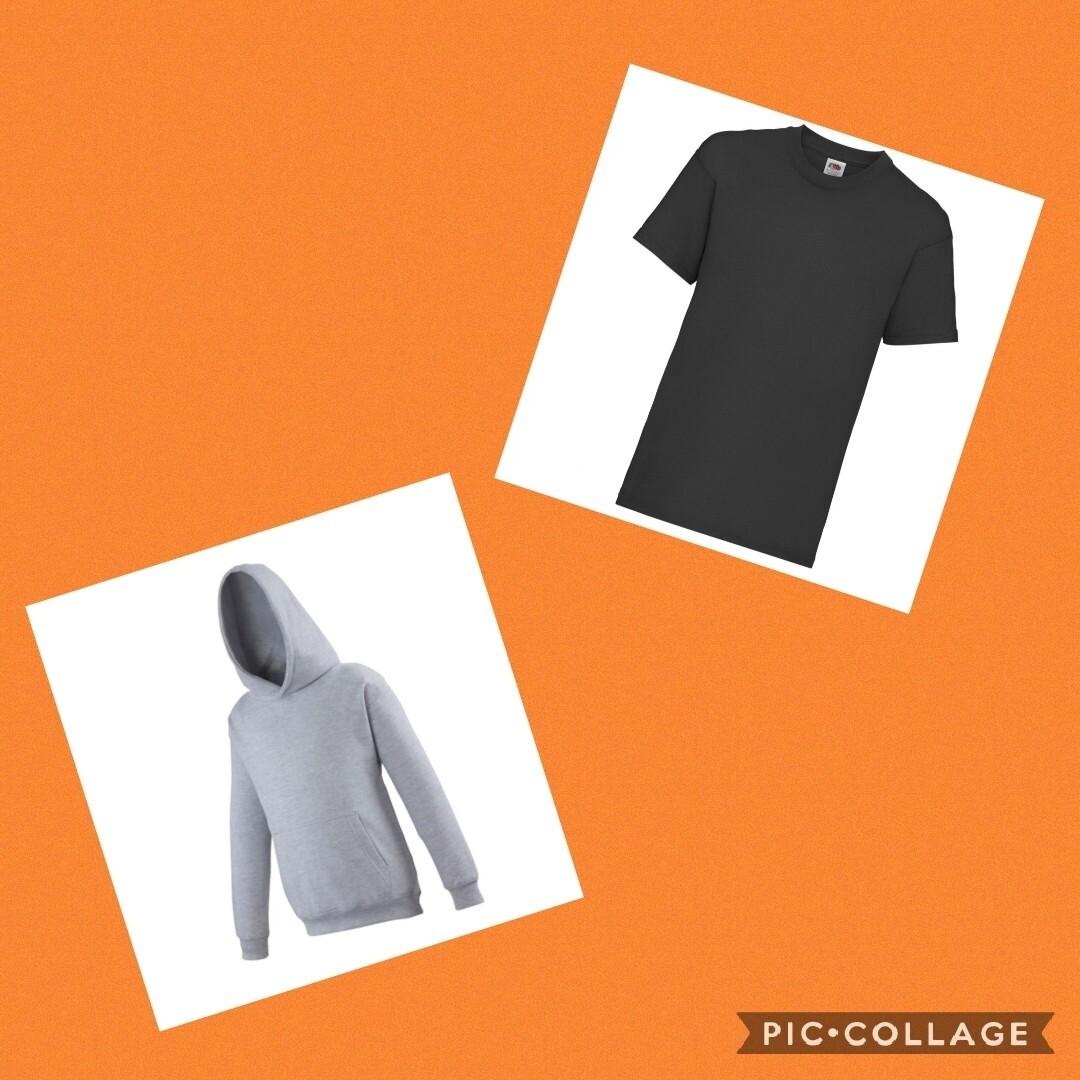 BUNDLE OFFER - Tshirt & Hoodie