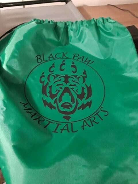 Green Drawstring Bag (Limited Stock)