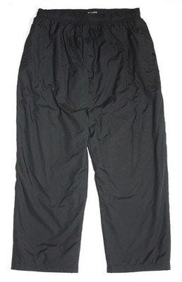 Брюки большого размера на резинке утепленные черного цвета