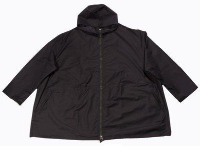 Куртка-ветровка большого размера темно-синяя