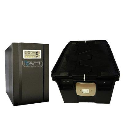 SH Series 3000VA 24v Pure sine wave +2 batteries & battery cabinet