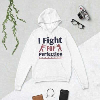 I fight for perfection boxing sport martial arts Unisex hoodie