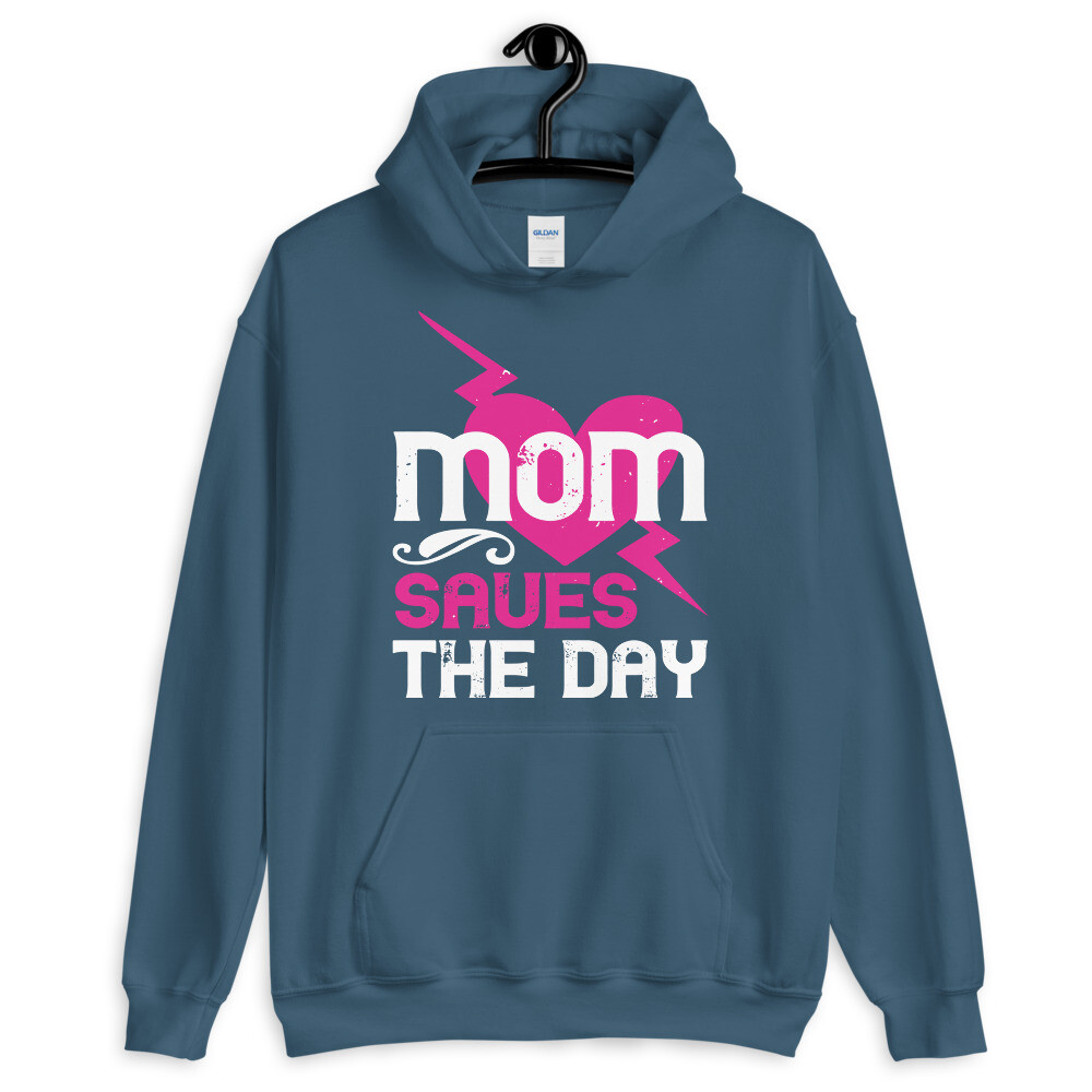 mom saves the day  Unisex Hoodie