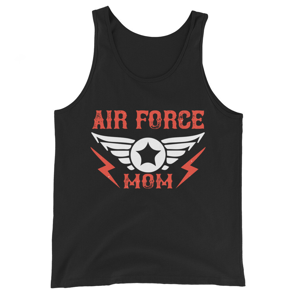 Air force mom Unisex Tank Top