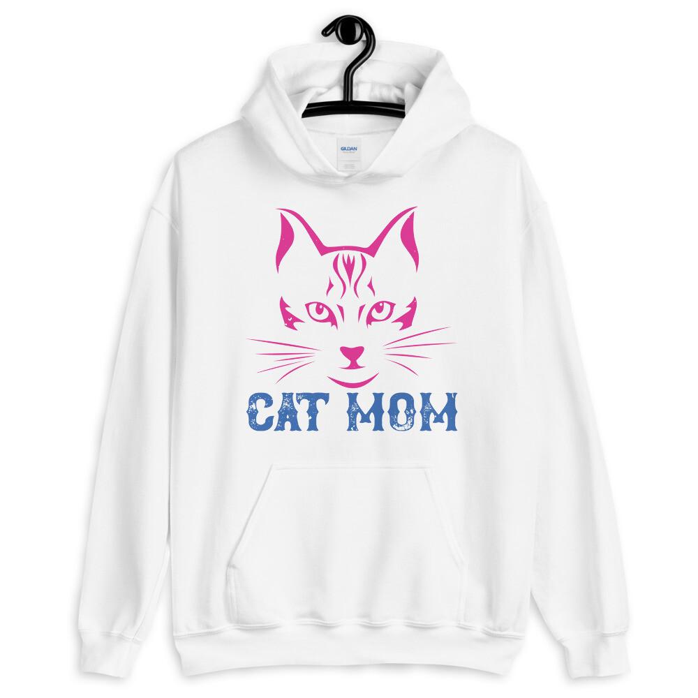 Cat  mom Unisex Hoodie