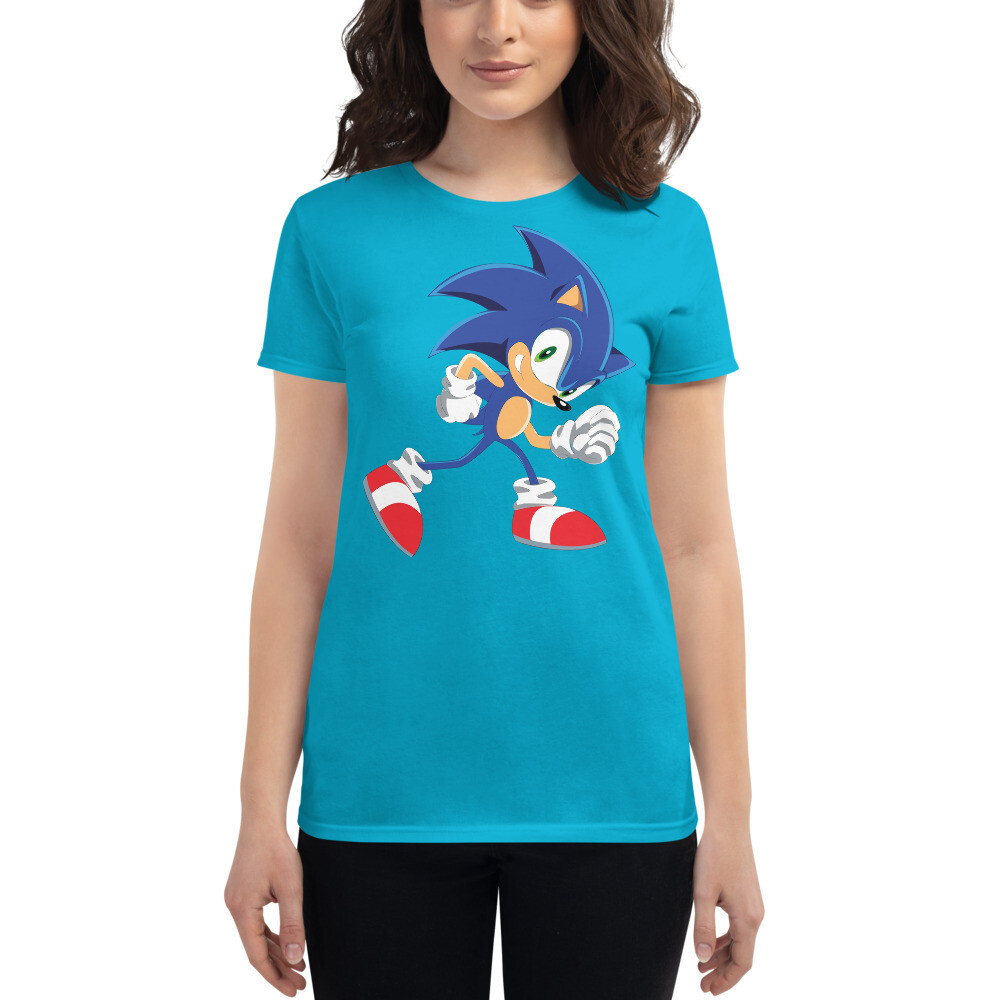 Sonic the hedgehog Women's short sleeve t-shirt